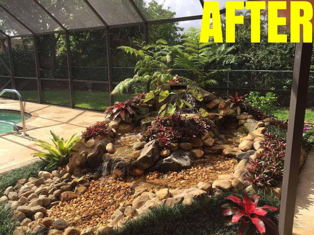 Water Features - Sanctuary Gardens - Landscape Specialists in Palm ...